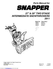 Snapper M1529E Manuals