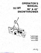 Simplicity 1690547 Manuals