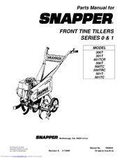 Snapper 501T Manuals