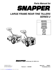 Snapper RT5X Manuals