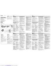 Sony Walkman WM-EX500 Manuals