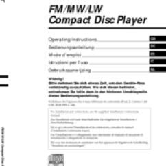 Sony Cdx L350 Wiring Diagram Dayton Motor Drum Switch Fm Am Compact Disc Player Manuals We Have 8 Available For Free Pdf Download Operating Instructions Manual
