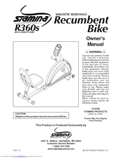 Stamina R360S Manuals