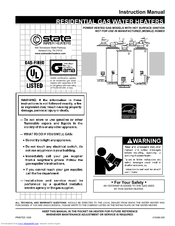 State Water Heaters Select Power-Vent C3 (FVIR) GS6 50