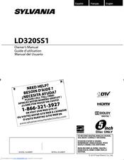 Sylvania LD320SS1 Manuals