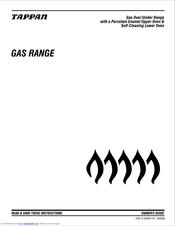 Tappan 316000191 Manuals
