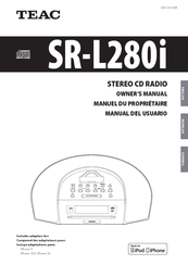 Teac SR-L280i Manuals