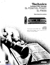 Technics SL-P9066 Manuals