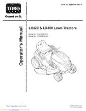 Toro 13AX60RH744 Manuals