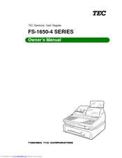 Tec FS-1650 Manuals