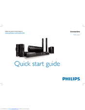 Philips HTS5582/12 Manuals