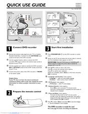 Philips DVDR610/05 Manuals