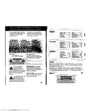 Philips AZ 1012 Manuals
