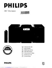 Philips FW17/21M Manuals