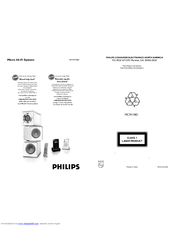 Philips MCM118D/37B Manuals