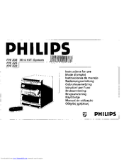 Philips FW 326 Manuals