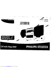 Philips FW55C/37 Manuals