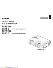 Toshiba TLP-261 Manuals