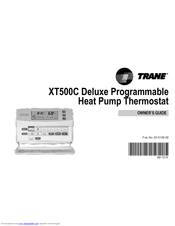 Trane Heat Pump Thermostat Manual