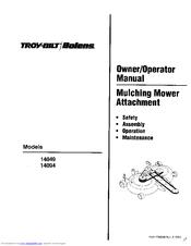 Troy-bilt 14049 Manuals