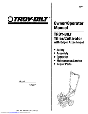 Troy-bilt 12097 Manuals
