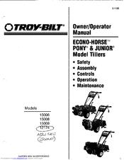 Troy-bilt 15006 Manuals