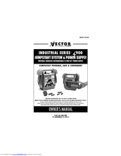 Vector Industrial Series VEC023 Manuals