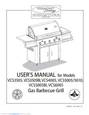 Vermont Castings VCS5010 Manuals