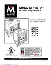 Majestic SC36A Manuals