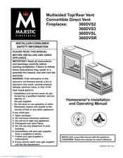 Majestic 360DVS2 Manuals