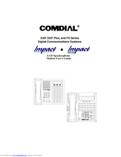 Comdial Impact 8024S Series Manuals