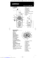 Cobra microTALK MT 975 Manuals