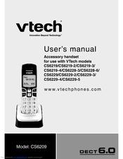Vtech DECT 6.0 CS6219-2 Manuals