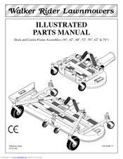 Walker 74-inch Manuals