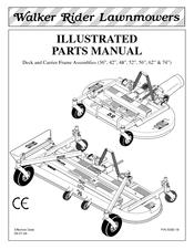 Walker DGHS52 Manuals