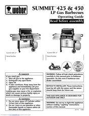 Weber Summit 450 Manuals