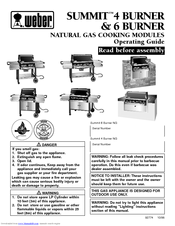 Weber Summit 475 Manuals