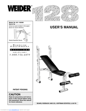 Weider 128 Manuals