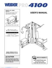 Weider Pro 4100 Manuals