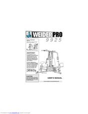 Weider PRO 9925 Manuals