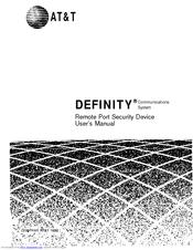 At&t Definity 8410D Manuals