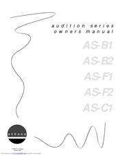 Athena Athena Audition Series AS-F1 Manuals