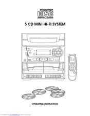 Audiovox CD2772 Manuals