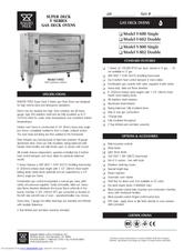Bakers Pride Y-602 Manuals