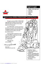 Bissell POWERSTEAMER 1690 Manuals