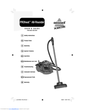 Bissell PROHEAT ALL-ROUNDER Manuals