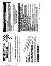 Black & Decker 9527 Manuals