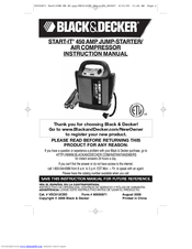 Black & Decker Start-It VEC012CBD Manuals