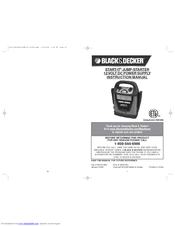 Black & Decker START-IT VEC013BD Manuals