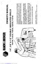 Black & Decker 7104-04 Manuals